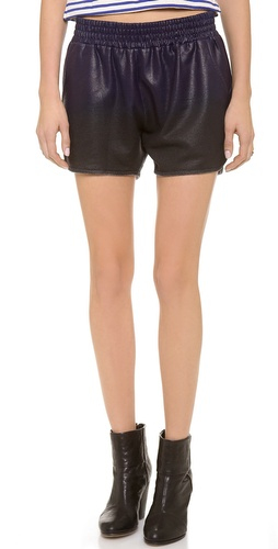 Whetherly Rita Coated Track Shorts at Shopbop / East Dane