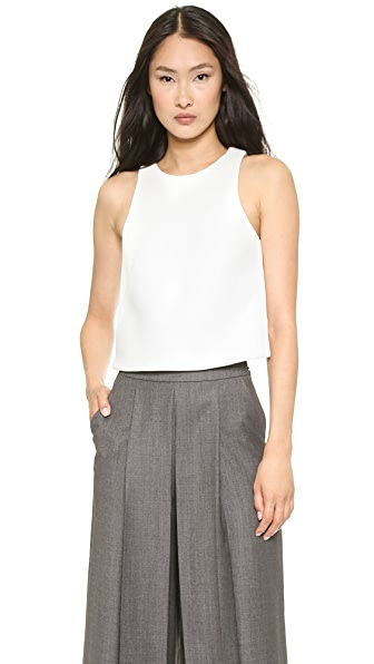 Whistles Sleeveless Crop Top