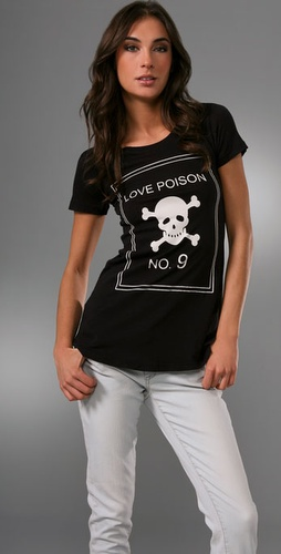 Wildfox Love Poison Crew Neck Tee