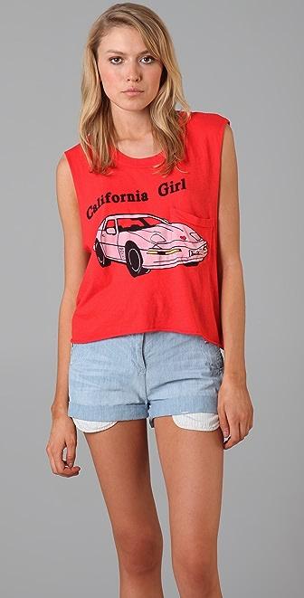 Wildfox California Girl Crop Tank