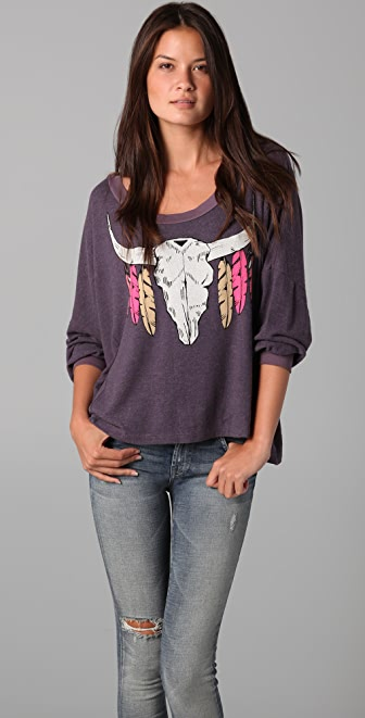 Wildfox Outlaw Nevada Pullover