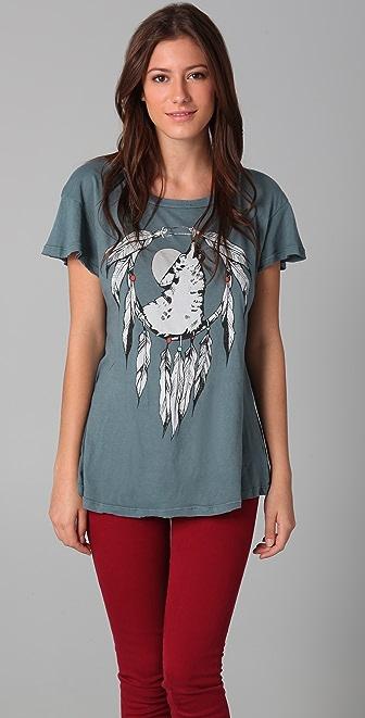 Wildfox Coyote Moon Hippie Tee