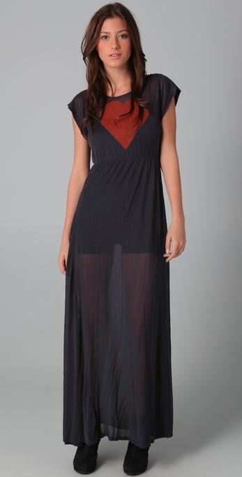 Wildfox True Love Piper Maxi Dress
