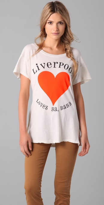 Wildfox Liverpool Hippie Tee