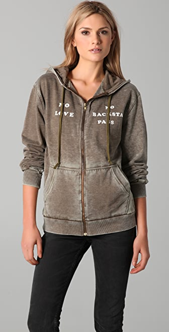 Wildfox Backstage Pass Hoodie