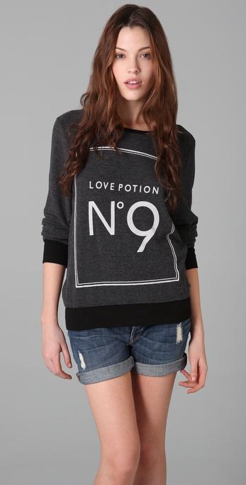 Wildfox Love Potion No. 9 Beach Sweatshirt