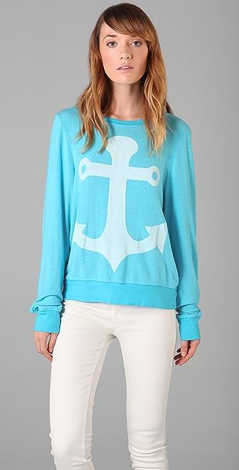 Wildfox Cruise Baggy Beach Sweatshirt
