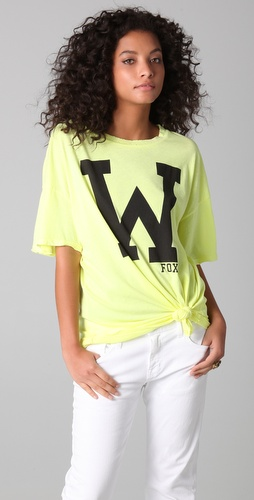 Wildfox College Fox Tee