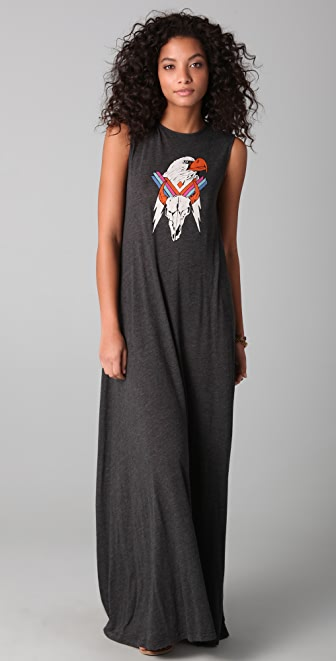 Wildfox Eagle Maxi Dress