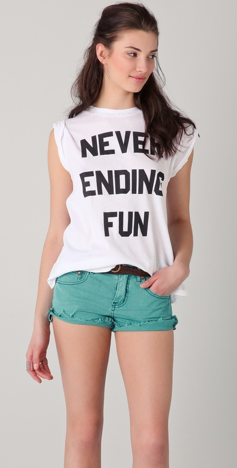 Wildfox Never Ending Fun Tee