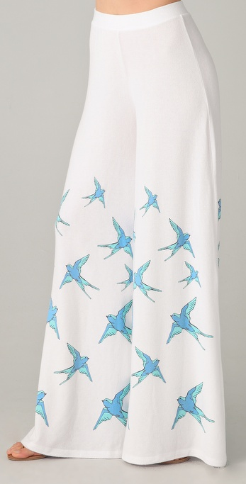 Wildfox Flock of Bluebirds Hendrix Pants