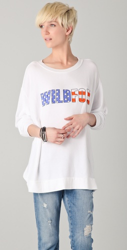 Wildfox American Fox Pullover