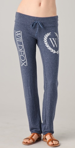 Wildfox Country Club Skinny Sweatpants