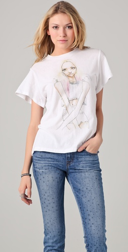 Wildfox Wildfox White Label Gemma Tee