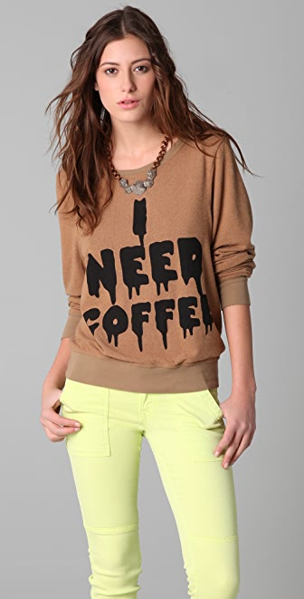 Wildfox Baggy Beach Sweatshirt