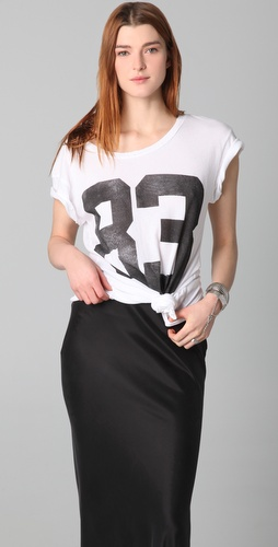 Wildfox Varsity 83 Hippie Crew Neck Tee
