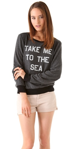Wildfox To The Sea Sweatshirt