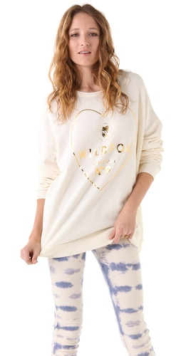 Wildfox Golden Potion Barefoot Sweatshirt