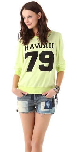 Wildfox Hawaii 1979 Baggy Beach Sweatshirt