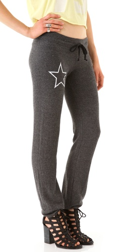 Wildfox Star Malibu Skinny Sweatpants