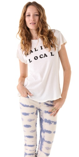 Wildfox Malibu Local Desert Crew Tee