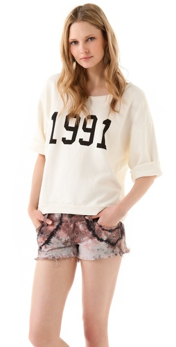 Wildfox 1991 Brat Pack Fleece Tee