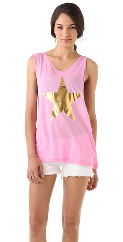 Wildfox Tate Cutoff Tank