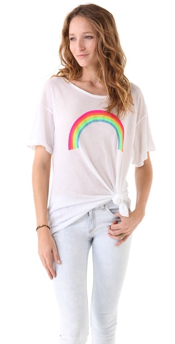 Wildfox Rainbow Tee
