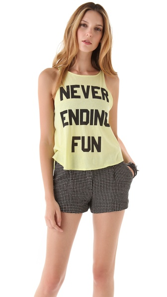 Wildfox Never Ending Cassidy Tank