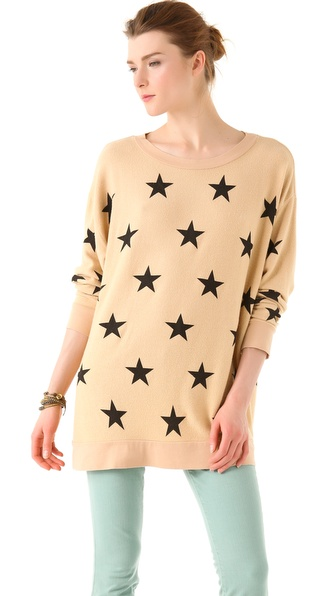 Wildfox Starshine Road Trip Sweatshirt
