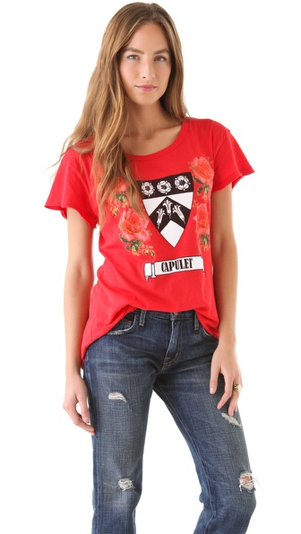 Wildfox No Longer A Capulet Tee