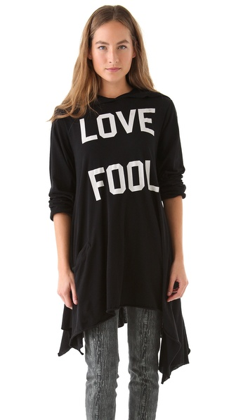 Wildfox Love Fool Hoodie