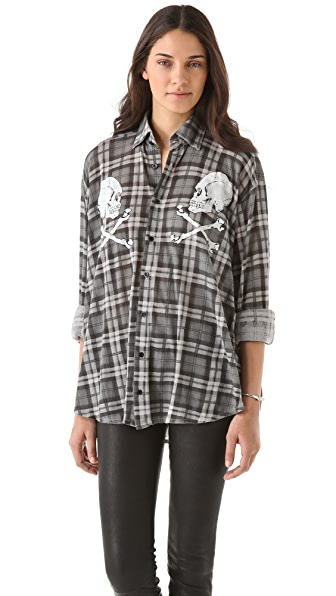 Wildfox Cimitero Seattle Shirt