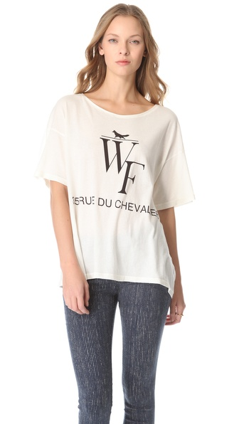 Wildfox Sacre Coeur Tee