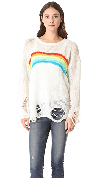 Wildfox Rainbow Dreamer Lennon Sweater
