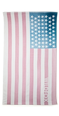 Wildfox Sun Bleach Flag Towel