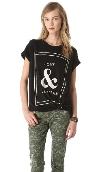 Wildfox Love & Ice Cream Tee