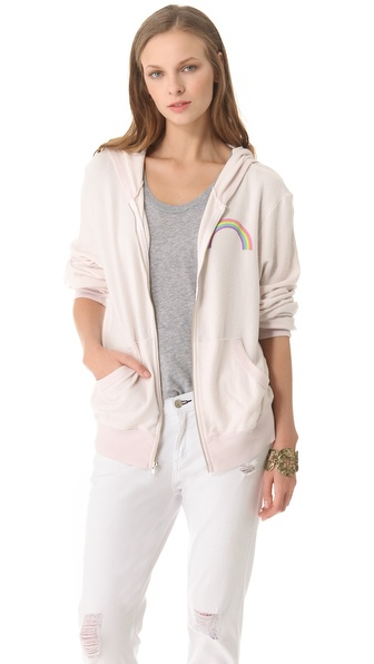 Wildfox Somewhere Malibu Zip Jacket