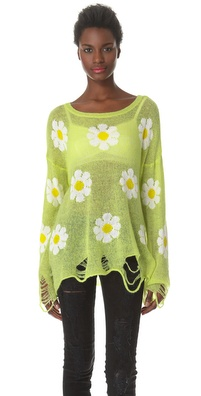 Wildfox Daisy Fest Sweater