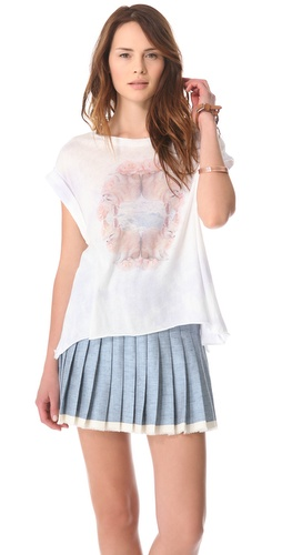 Wildfox Rose Foxes Tee