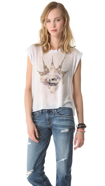 Wildfox Paris Is My Lover Tee