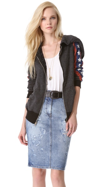Wildfox Sir Yes Sir Track Jacket