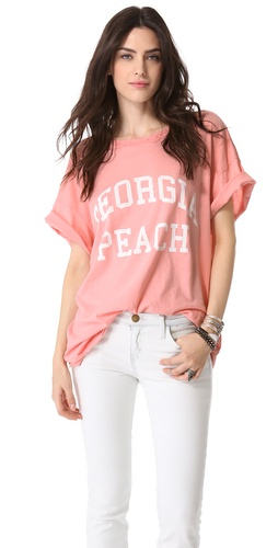 Wildfox Georgia Peach Tee