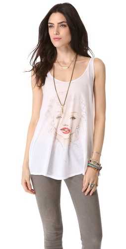 Wildfox Marilyn Tank