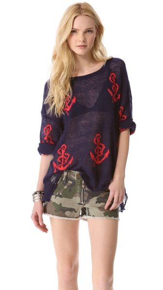 Wildfox Shipwrecked Lennon Sweater