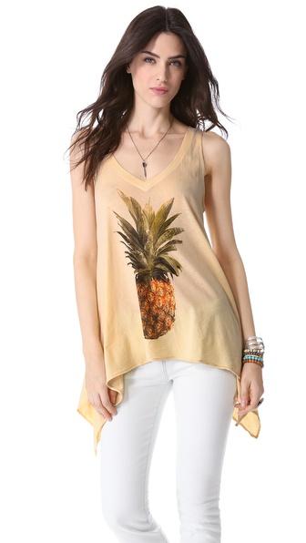 Wildfox Pineapple Dreamer Tank