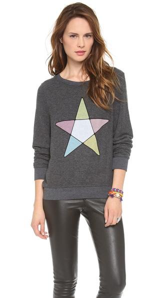 Wildfox Ice Witch Baggy Beach Sweatshirt