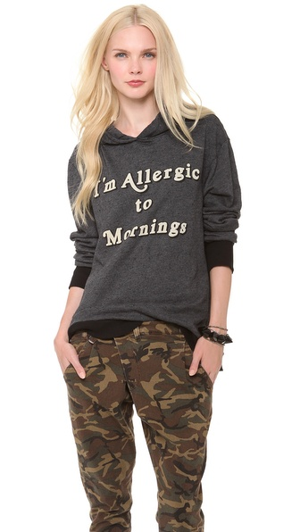Wildfox Morning Allergies Hoodie