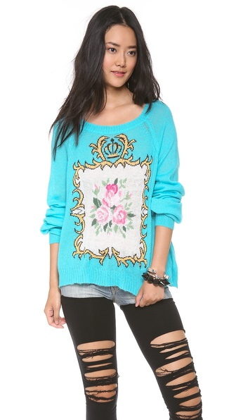 Wildfox Teacup Sweater