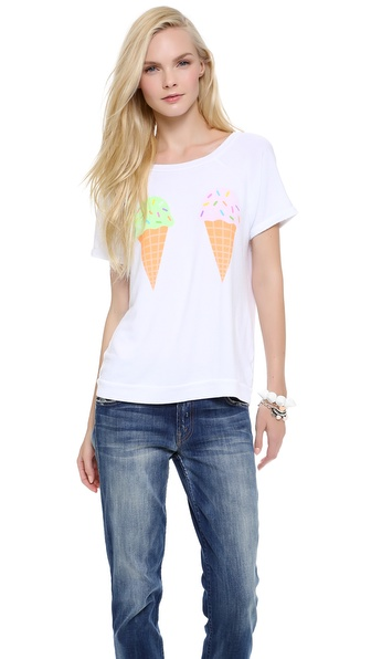 Wildfox We Dream of Ice Cream Top